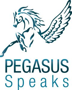 Pegasus Speaks logo