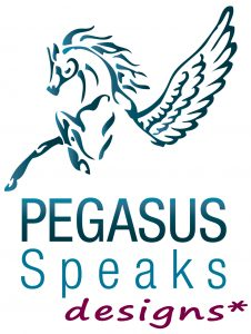 Pegasus Speaks Designs logo