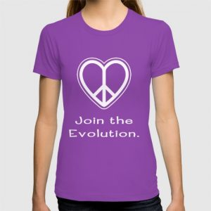 Peace - Join the Evolution t-shirt